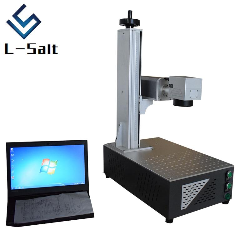 Laser Marking Machine Electronics Parts Keyboard Metal Logo Design Fiber Laser Marking Machine