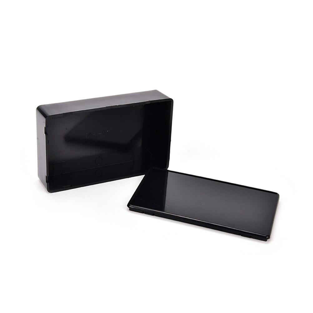100x60x25mm Black DIY Enclosure Instrument Case Plastic font b Electronic b font Project Box Electrical Supplies