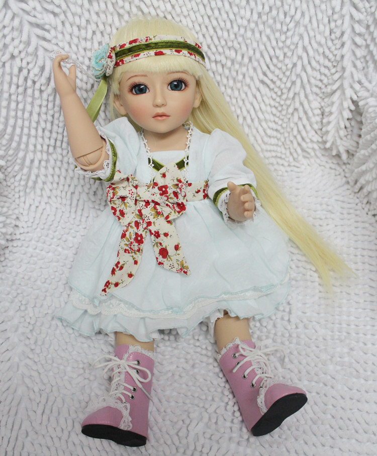 18 Inch 45cm SD BJD Vinyl Reborn Baby Doll Toys Lifelike Handmade Baby Home Babies's Gifts Baby Reborn Dolls Play House GH56 18 inch 45cm new lifelike vinyl reborn baby doll full vinyl sd bjd body dolls with clothes for girls gh587