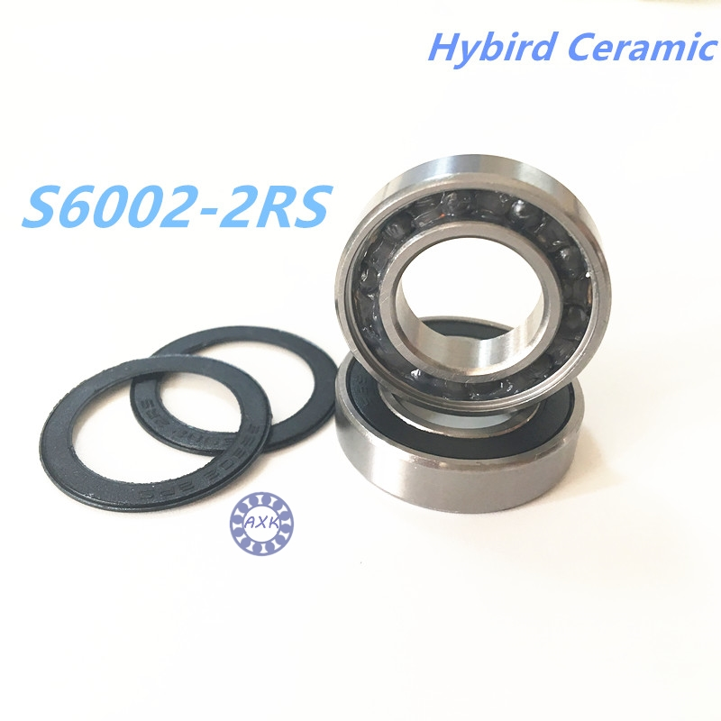 Free shipping S6002-2RS stainless steel 440C hybrid ceramic deep groove ball bearing 15x32x9mm for bike part купить антирезус гамма глобулин в центре переливания крови