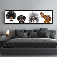 Cute Dog Diamond Painting 5D DIY Embroidery Round Drill Home Decor Arts Crafts&Sewing Needlework Cross Stitch Crpsen