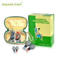Free Shipping 8cups HACI Suction Cup Chinese Acupuncture Cupping Set