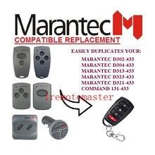 Marantec 2 peças Brand new rainproof 433Mhz Da Porta Da Garagem/Portão transmissor de substituição muito
