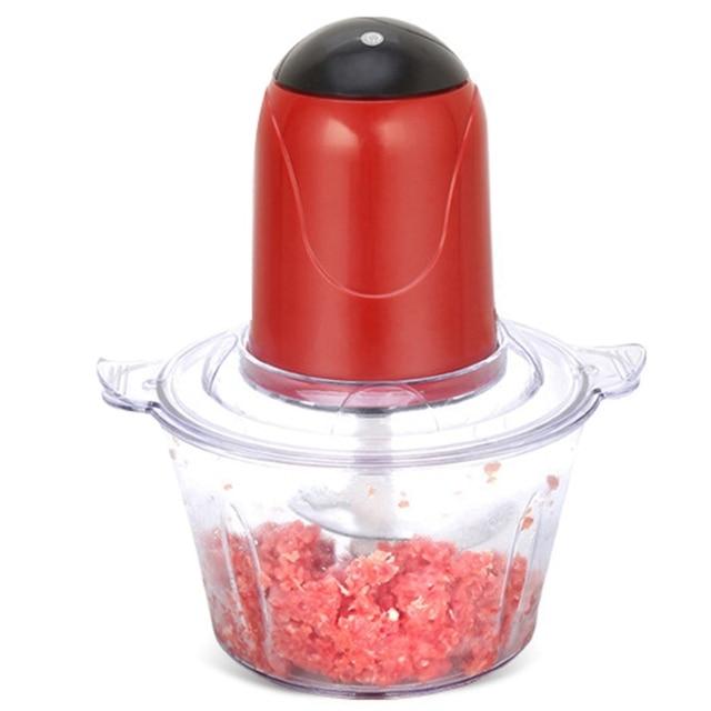 Automático Poderoso Processador de Alimentos Elétrico Moedor de Carne Elétrico Multifuncional Elétrica Meat Slicer Cortador Chopper Blender (E