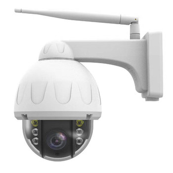 2MP 1080P PTZ Wireless WiFi IP Camera 4X Zoom DualLight Source Motion Detection Tracking Outdoor Waterproof Security CCTV Camera фото