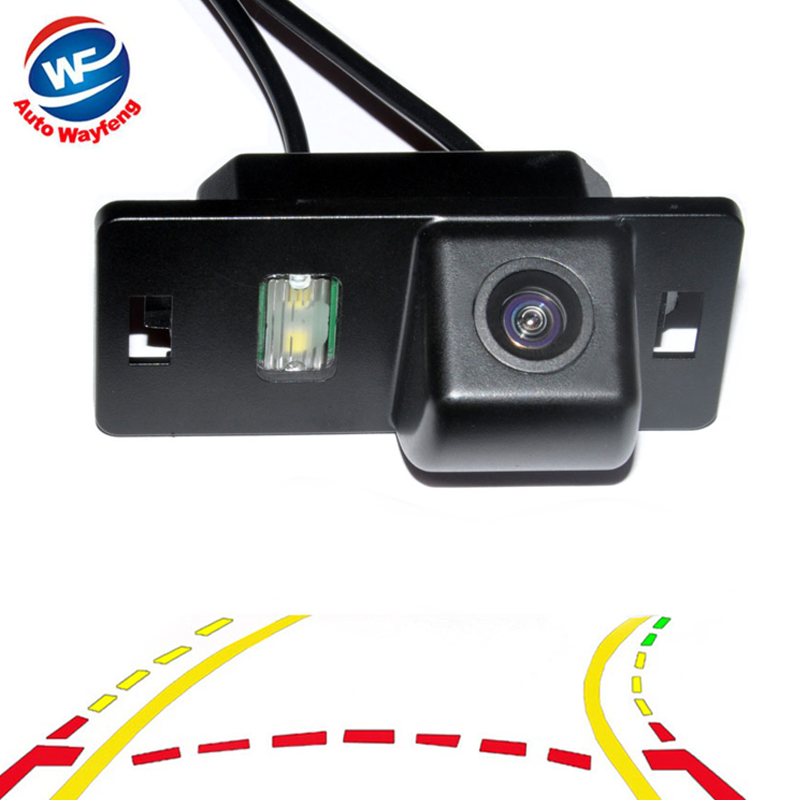 Variable Dynamic Trajectory Tracks Car Rear View Backup <font><b>Camera</b></font> for <font><b>Audi</b></font> A1 A3 A4 A5 <font><b>A6</b></font> RS4 TT Q5 Q7 Volkswagen Passat R36 image