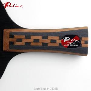 Image 3 - Palio Hoja de tenis de mesa oficial TNT 1, madera 7, 2 de carbono, ataque rápido con bucle especial para el equipo de ping pong de beijing shandong
