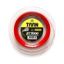 1 Reel 200m TAAN BT7000 Force badminton strings 0.68mm durable Badminton strings high flexibility and good feeling тальк taiang taan