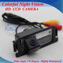 100% High Quality Free Shipping CCD/HD back up reversing Camera for KIA SOUL / For Hyundai I30