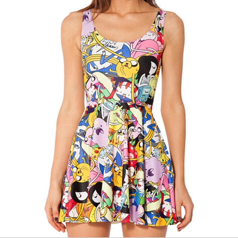 2cda93261 Vestido-de-verão-Nova-Moda-Estilo-Dos-Desenhos-Animados-Adventure-Time- vestido-Casual-vestido-de-Verão.jpg crop 5