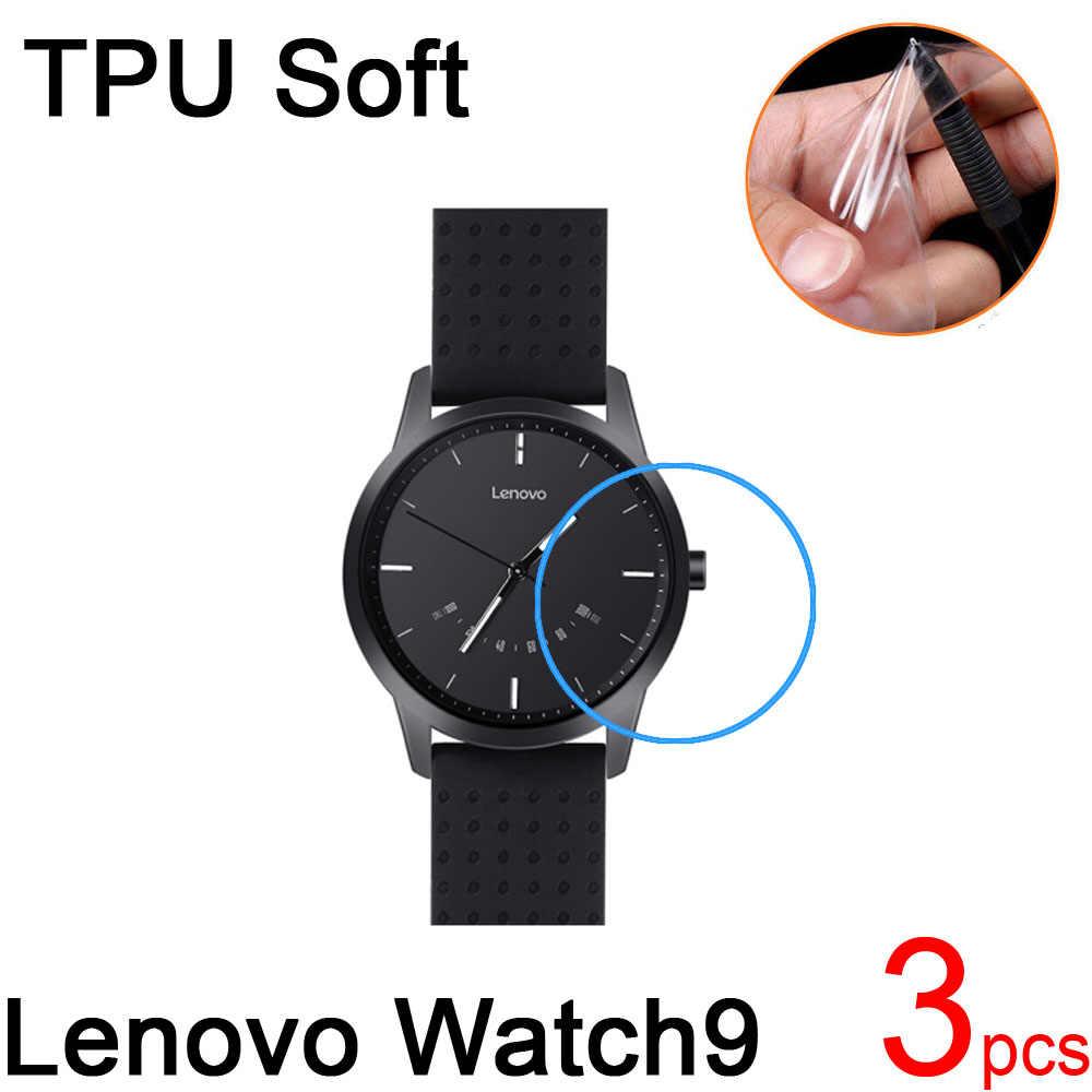 3 pièces Ultra clair TPU doux pour Lenovo Watch9 écran protecteur couverture pour Lenovo Watch9 montre intelligente anti-rayures Film de protection