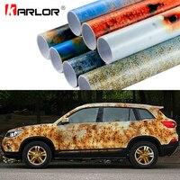 50x200 cm Fer Rouille Vinyle Wrap Film D'emballage De Voiture De Couleur Full Body Wrap Vinyle Autocollants Bombe Automobiles Moto Car Styling