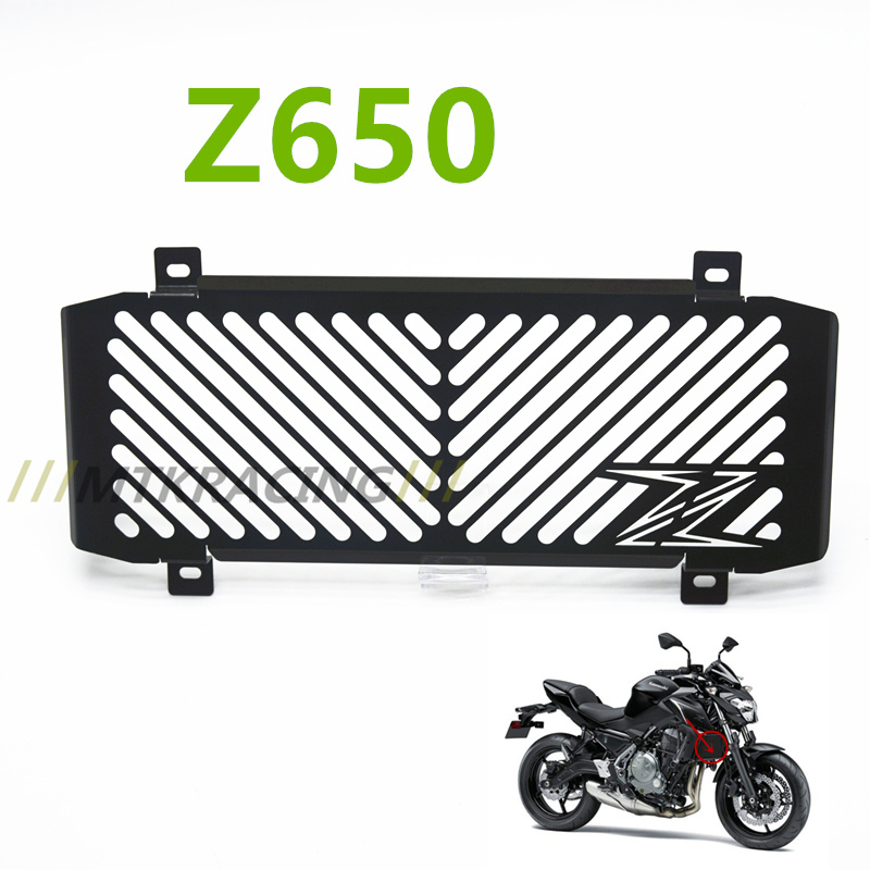 2017 New Arrival Stainless Steel Motorcycle radiator grille guard protectionWater tank guard  For Kawasaki z650 Z650 Z 650 z 650 new motorcycle stainless steel radiator grille guard protection for yamaha tmax530 2012 2016
