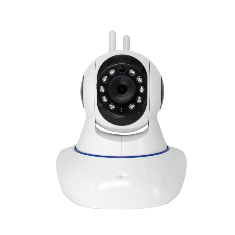 OIYEA PTZ double antenna HD 720P Infrared night vision motion detection WIFI home security IP surveillance camera hd 720p onvif 2 0 security antenna ip camera wifi cmos night vision h264 ptz motion detection ir indoor security camera