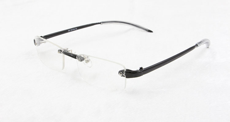 BCLEAR 9 colors unisex fashionable colorful TR90 plastic rimless optical frame eyeglasses with light weight classic hotsale 620
