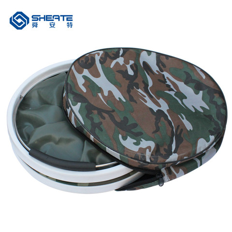 dobravel retratil camouflage oxford barril ferramenta de
