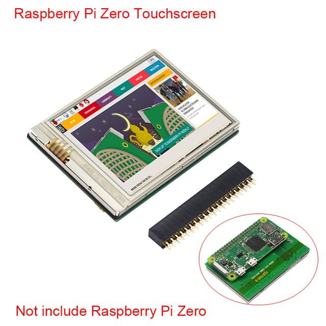 US $18 89 30% OFF|Raspberry Pi Zero W 2 8 inch Touchscreen HD 60 FPS  640x480 Display LCD for Raspberry Pi Zero Monitor + 20Pin GPIO Header-in  Demo