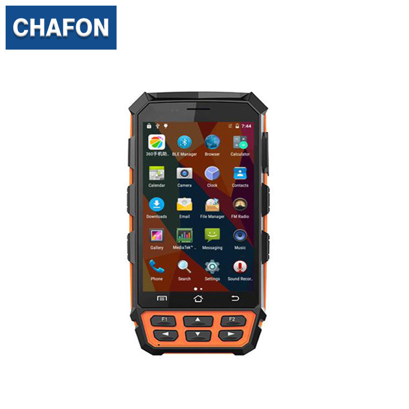 цена CHAFON UHF android handheld portable rfid reader with WIFI Bluetooth 4G GPS Camera function for clothing management