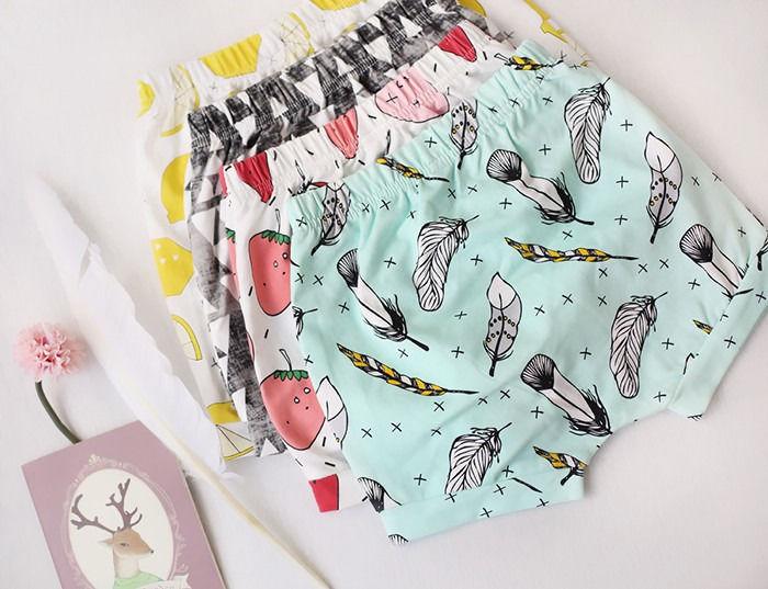 Cut Toddler Baby Boy Girl Prints Bottoms Pants Shorts Summer Bloomers Hot Pants