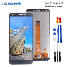цена на Original For Cubot R11 LCD Display Touch Screen Replacement For Cubot R11 Screen LCD Display Phone Parts Free Tools