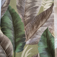 Beibehang Modern Personality Tropical Jungle Banana Leaves Wallpaper Murals Living Room Video Wall Background Wall Theme