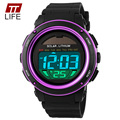 TTLIFE Power Watch Men Electronic Masculino LED Sport Watches 50m Military Outdoor Student Relogio Masculino Women Wristwatch