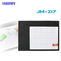 JAKEMY ESD Anti Static Heat Insulation Working Mat Repair Tools Kits For Electronic Maintenance And Repair