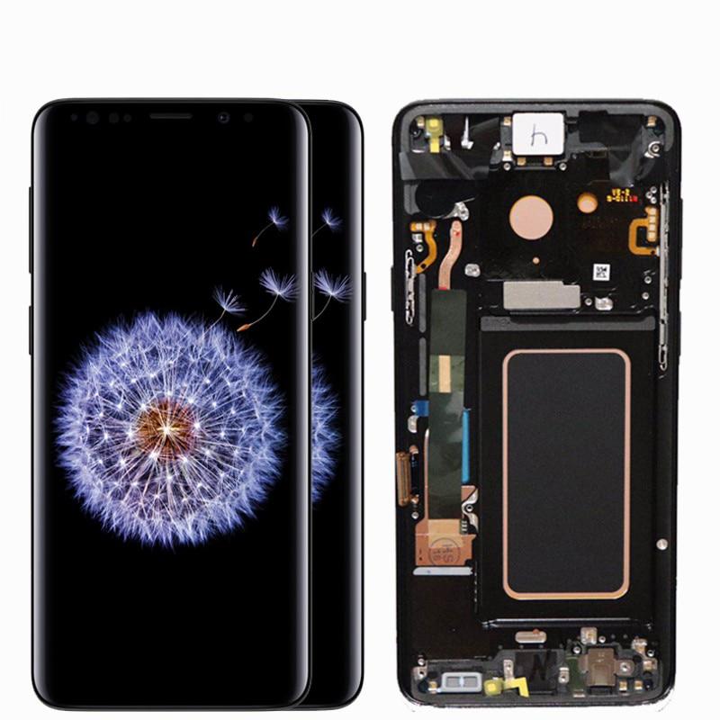 HTB1DDhOd.GF3KVjSZFvq6z nXXad ORIGINAL AMOLED Screen for SAMSUNG Galaxy S9 Lcd Screen S9plus LCD Screen G960 G965 Touch Screen Digitizer