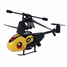 1 pcs Cool Mini rc model Helicopter with Remote Control RC Micro Remote Control aircraft 4