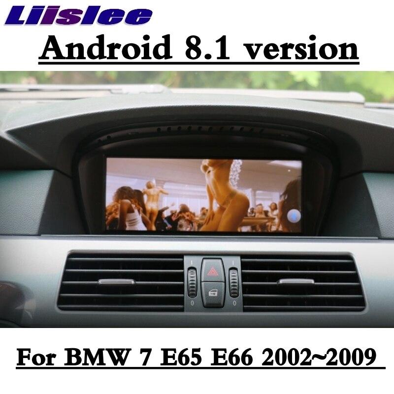 Liislee For BMW 7 E65 E66 2002~2009 Car Multimedia GPS Audio Media Radio Stereo Navigation Player NAVI 3