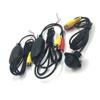 Universal Car Vehicle Backup Camera HD Night Vision Parking Rear View Reverse Camera 2 4G Wireless