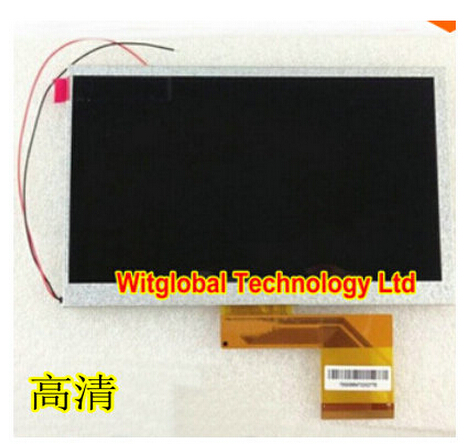 New LCD Display Matrix For 7 Turbopad S4 Turbokids Tablet 1024X600 inner LCD screen panel Module Replacement Free Shipping планшет turbopad 912 new