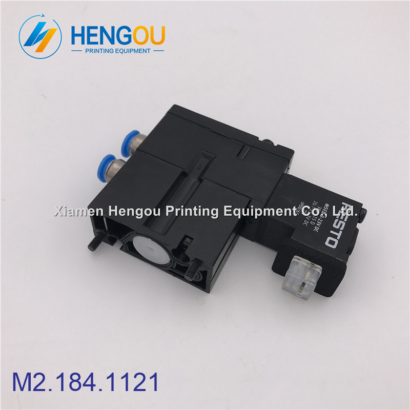 5 Pieces heidelberg valve M2.184.1121 MEBH-4/2-QS-6-SA festo MSEB-3-2 3V DC M2.184.1121/05 high quality