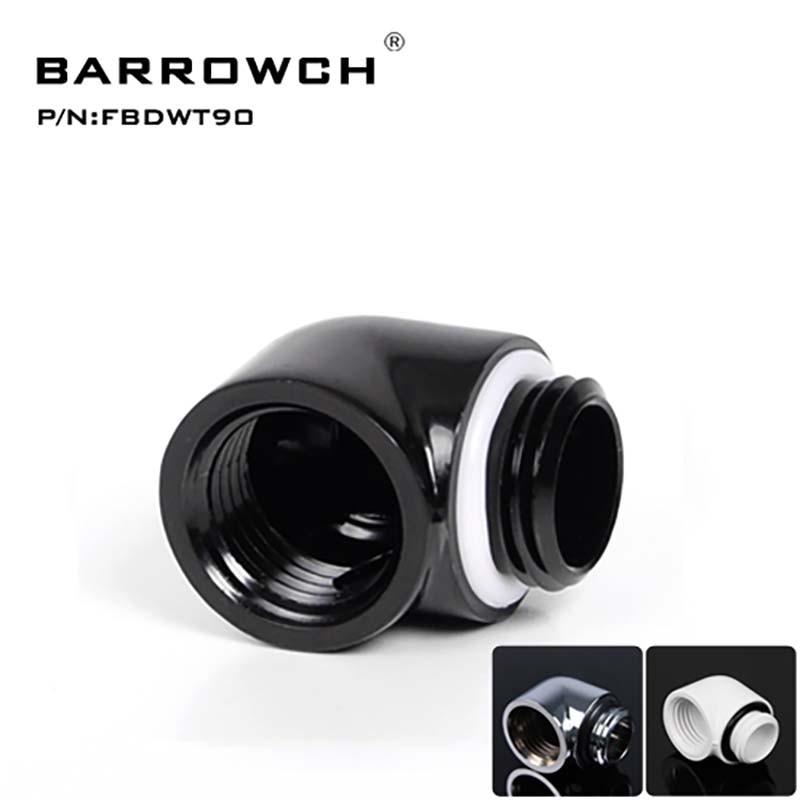 Heatsink Gadget male To Female Barrowch Water Cooler 90 Degree Rotary Adapter