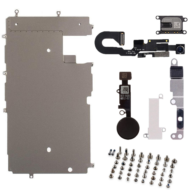 566488f63873b US $18.9 | Full Set Repair Parts For iphone 7 LCD Display Repair Parts  Front Camera Ear Speaker Plate home button for iphone 7 PLUS-in Mobile  Phone ...