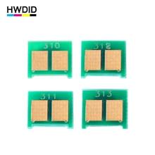 HWDID 4PCS CE310A 310 CE311A CE312A CE313A 126A Toner Reset Chip For HP CP1025 CP1025nw M275mfp M175a M175a M175nw M275a printer