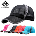 Unisex Summer Breathable Fashion Baseball Cap Hat For Women Men Mesh Cap Snapback Hat Bone Golf Cap Men Sport Brand Hat Hot Sale