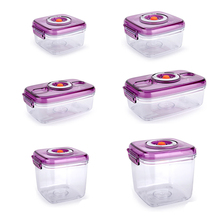 YTK Vacuum Containers Fresh Can Damp Proof Tea Pot Food Container Seal Pot Vacuum Sealer Pots For Seal Foods