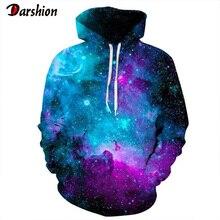 New style Space Hoodies Print 3D Sweatshirt Starry Sky