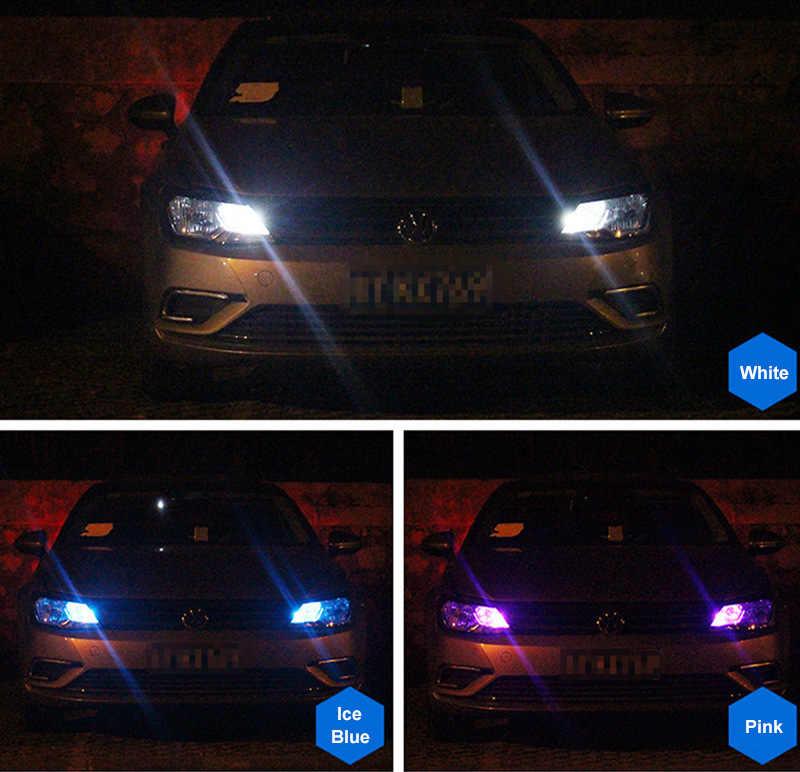 2 sztuk T10 żarówki LED białe 168 501 W5W lampa LED T10 klina 3030 2SMD oświetlenie wnętrza 12 V-24 V 6000K czerwony bursztyn żółty lodowy blękit