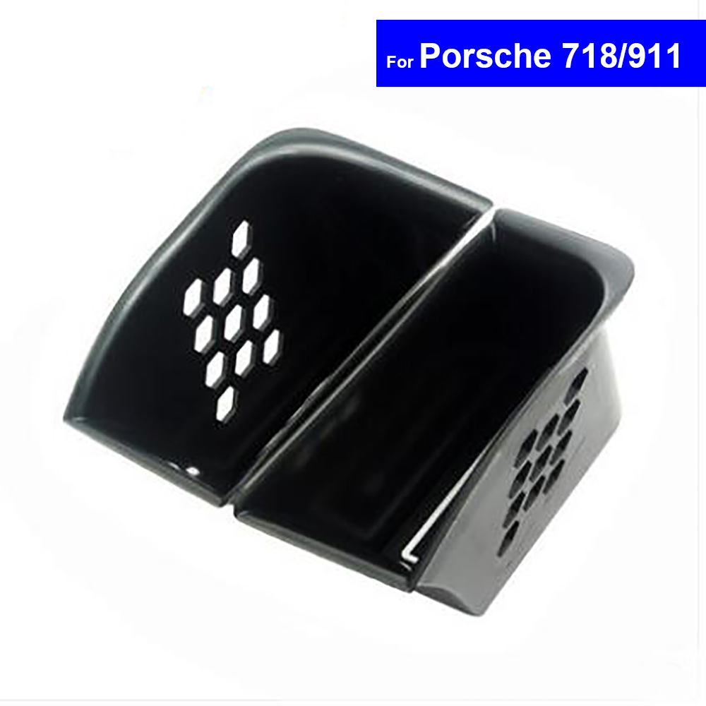 2 Pcs Front/Rear Side Door Car Armrest Storage Box Container Holder Secondary Storage for Porsche 718 911 Free Shipping