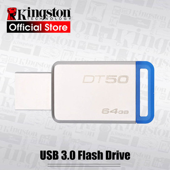 KINGSTON Pendrive 64GB USB 3.1 High Speed USB Flash Drive 64GB Real Capacity Pendrive USB Stick