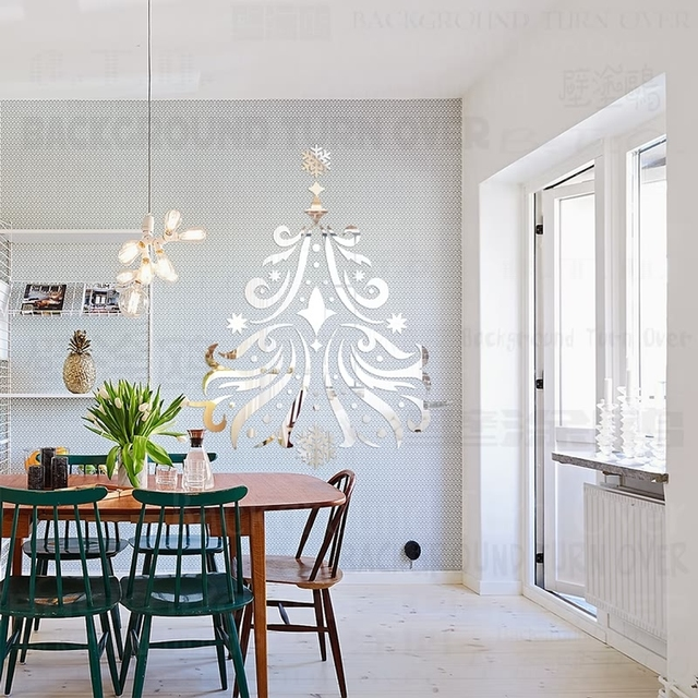 Hair Salon Wall Decor aliexpress : buy diy european style christmas tree decorations