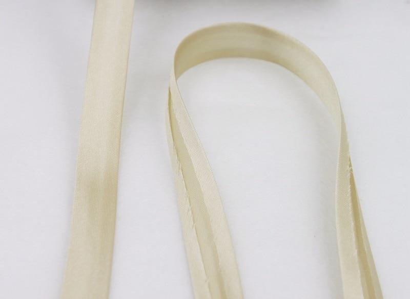 """100 ярд полиэстер 5/""""(15 мм) атласная косая лента косая Привязка сплошной цвет для пошив одежды «сделай сам» и обрезки"""