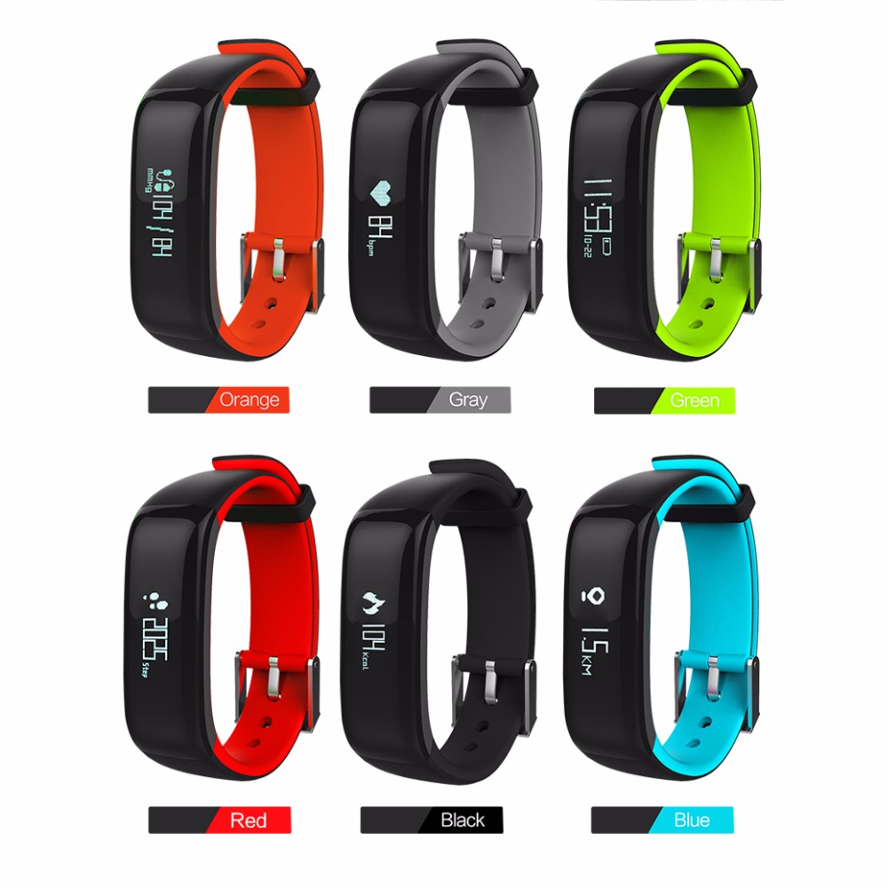 Fuster Activity Tracker Sport Fitness Waterproof Bluetooth Smart Bracelet for Android and IOS Smart Phone with