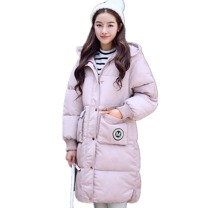High Quality Thicken Parka Fashion Loose Winter Cotton Padded Jacket Women Warm Coat Large Size Female Outerwear Parka TT2933 2017 middle aged winter jacket women thicken warm cotton padded slim plus size 6xl winter coat women parka high quality