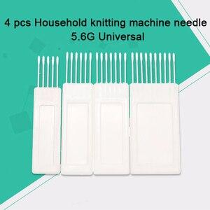 4 pçs transfercomb ferramenta de transferência padrão agulhas calibre para lã fio irmão tricô máquina kh840 kh860 tricô acessórios