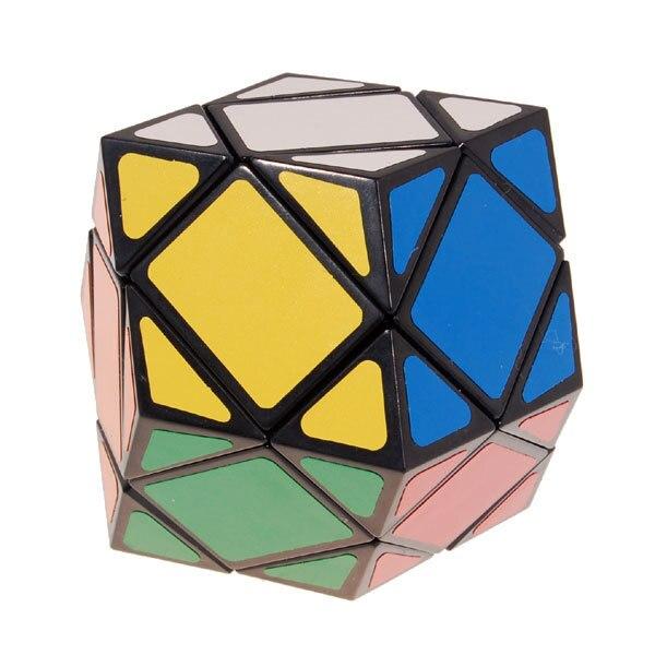 CoöPeratieve 6-as Schuine Schuine Magic Intelligence Test Cube Black Puzzel Educatief Speelgoed Speciaal Speelgoed