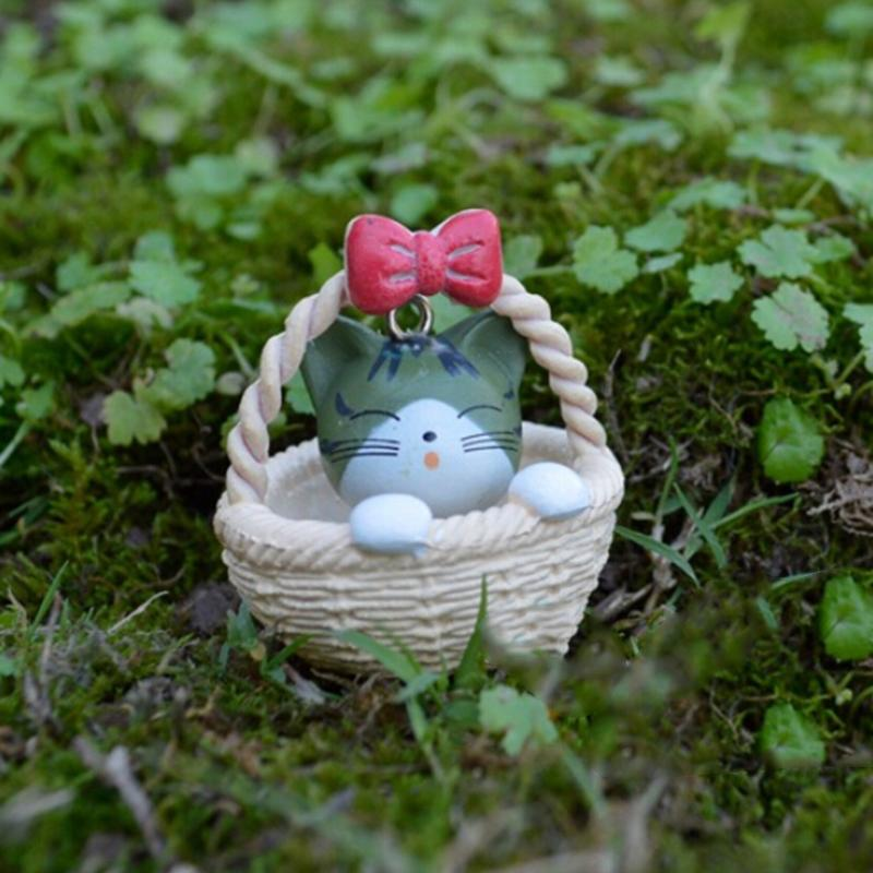 Aliexpress.com : Buy 1Pcs Cute Resin Crafts Decorations Miniature Cradle Cat  Fairy Gnome Terrarium Christmas Xmas Party Garden Gift From Reliable Craft  ...