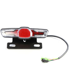 5 Led Bicycle Rear Light For Electric Bike 36V 48V 60V eBike Tail Light For Hub Motor Kits Mid Motor Kits Conversion Kit(China)